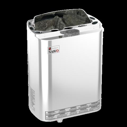 Электрическая печь SAWO MINI COMBI MNC-36NS-Z (3,6 кВт, с парогенератором, выносной пульт, внутри оцинковка, снаружи нержавейка)