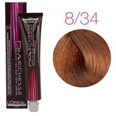 L'Oreal Professionnel Dia Richesse 8.34 (Светлый блондин золотисто-медный) - Краска для волос