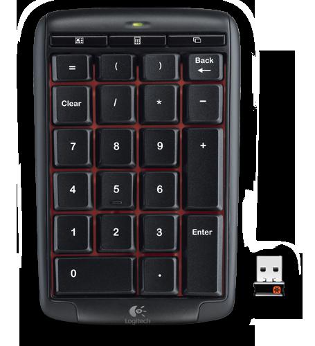 Logitech Wireless Number Pad N305