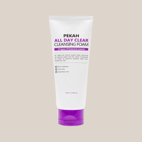 Пенка для умывания Pekah All Day Clear Cleansing Foam