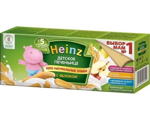 Печенье Heinz c яблоком 160 гр
