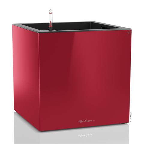13756 Кашпо LECHUZA Канто 40 куб. Красный