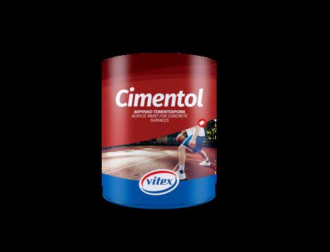 Акриловая краска по бетону на основе растворителя - Cimentol.