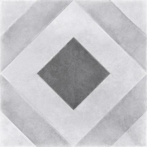 Керамогранит CERSANIT Motley 298x298 пэчворк геометрия серый микс