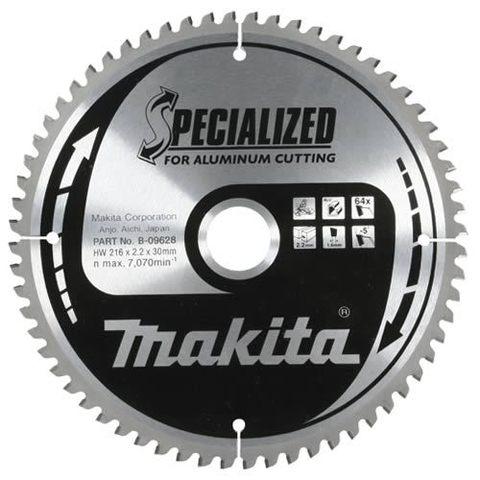 Диск по алюминию Makita 260*30*2,4 мм /100, –5°, TCG