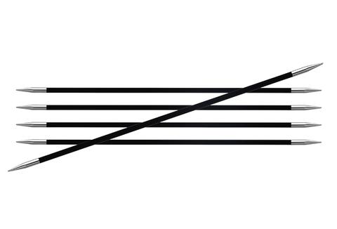 KnitPro KARBONZ Спицы чулочные 15 см