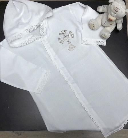 Рубашка для крещения 2 года