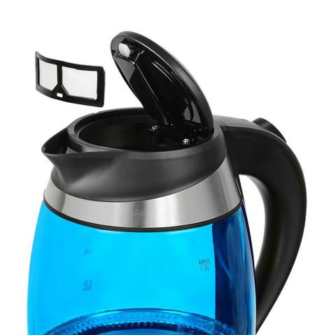 Чайник электрический Starwind (1,8 литра) 2200 Вт, LED подсветка, синий