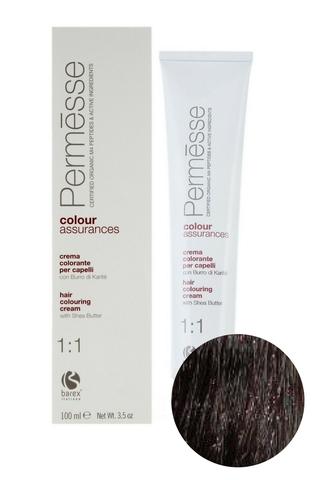 Крем-краска для волос 5.0 Светлый каштан Permesse, Barex