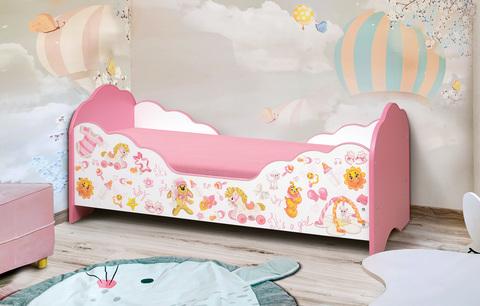 Кровать детская с фотопечатью Малышка №4