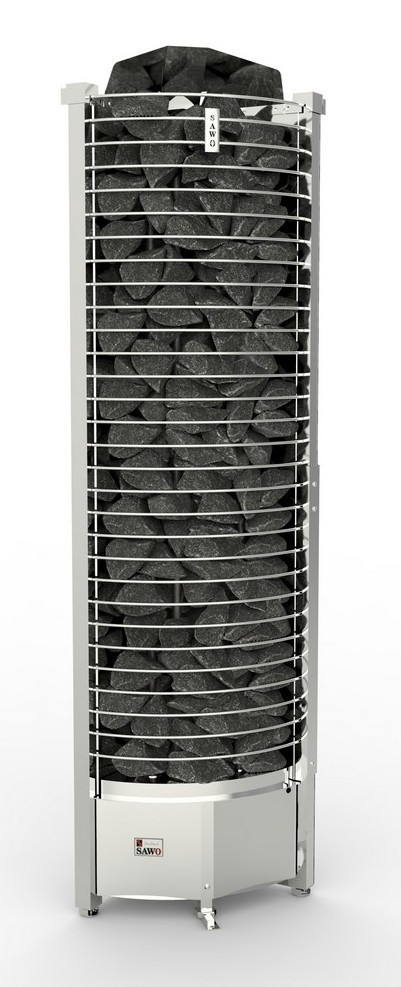 Фото - Серия Tower: Электрическая печь SAWO TOWER TH6-120NS-CNR-P (12 кВт, выносной пульт, угловая) серия taurus электрическая печь sawo taurus tau 180ns g p 18 квт выносной пульт