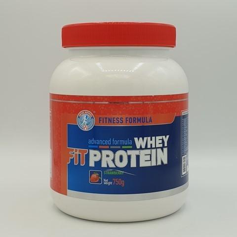 Сывороточный протеин FITNESS FORMULA, вкус клубники, Академия-Т, 750 гр