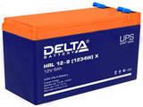 Аккумулятор Delta HRL 12-9 Х (1234W) ( 12V 9  Ah / 12В 9  Ач ) - фотография