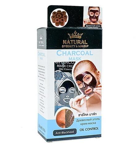 Маска-пленка с древесным углем Natural Charcoal Mask, 100гр