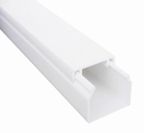 MEX 16х16 Миниканал 16х16 мм. 1шт=1м. Цвет Белый. Ecoplast (ЭКОПЛАСТ). 77002