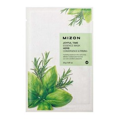 Mizon Joyful Time Essence Mask Herb - Тканевая маска для лица с травяным экстрактом