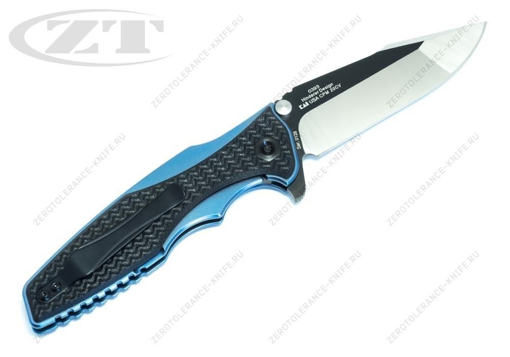 Нож Zero Tolerance 0393 Rick Hinderer - фотография