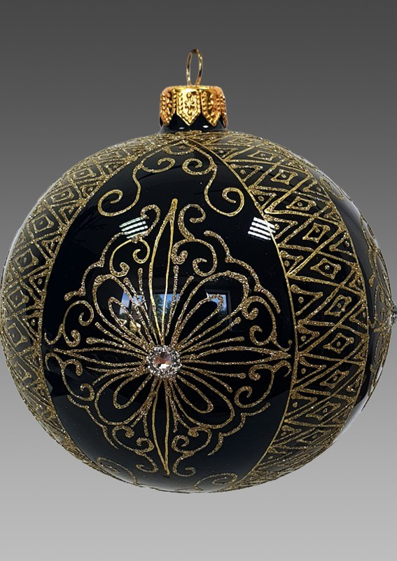 Черный Мехенди - шар 110 мм