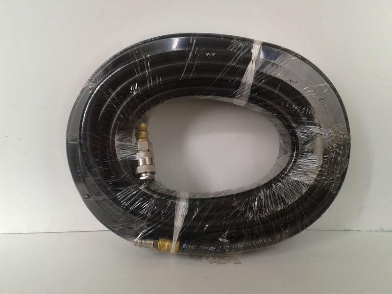 Шланг 10 метров, диаметр 8 мм, с быстросьёмами