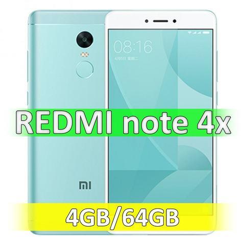 Xiaomi Redmi Note 4X (4-64Gb) Green