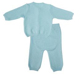 Папитто. Комплект кофточка и штанишки, голубой вид 2