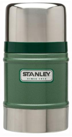 Картинка термос для еды Stanley Classic Food 0.5L Зеленый