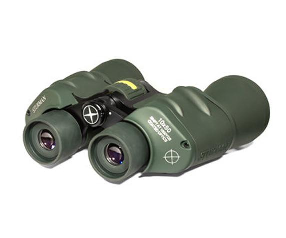 Бинокль Sturman 10x50 с сеткой зелёный - фото 3