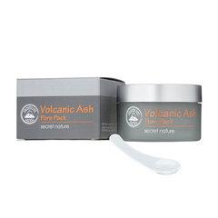 Secret Nature Volcanic Ash Pore Pack - Очищающая маска для лица с вулканическим пеплом