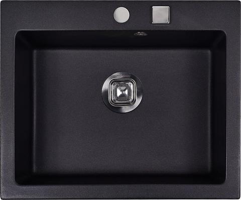 Мойка для кухни Kuppersberg MODENA 1B BLACK METAL.