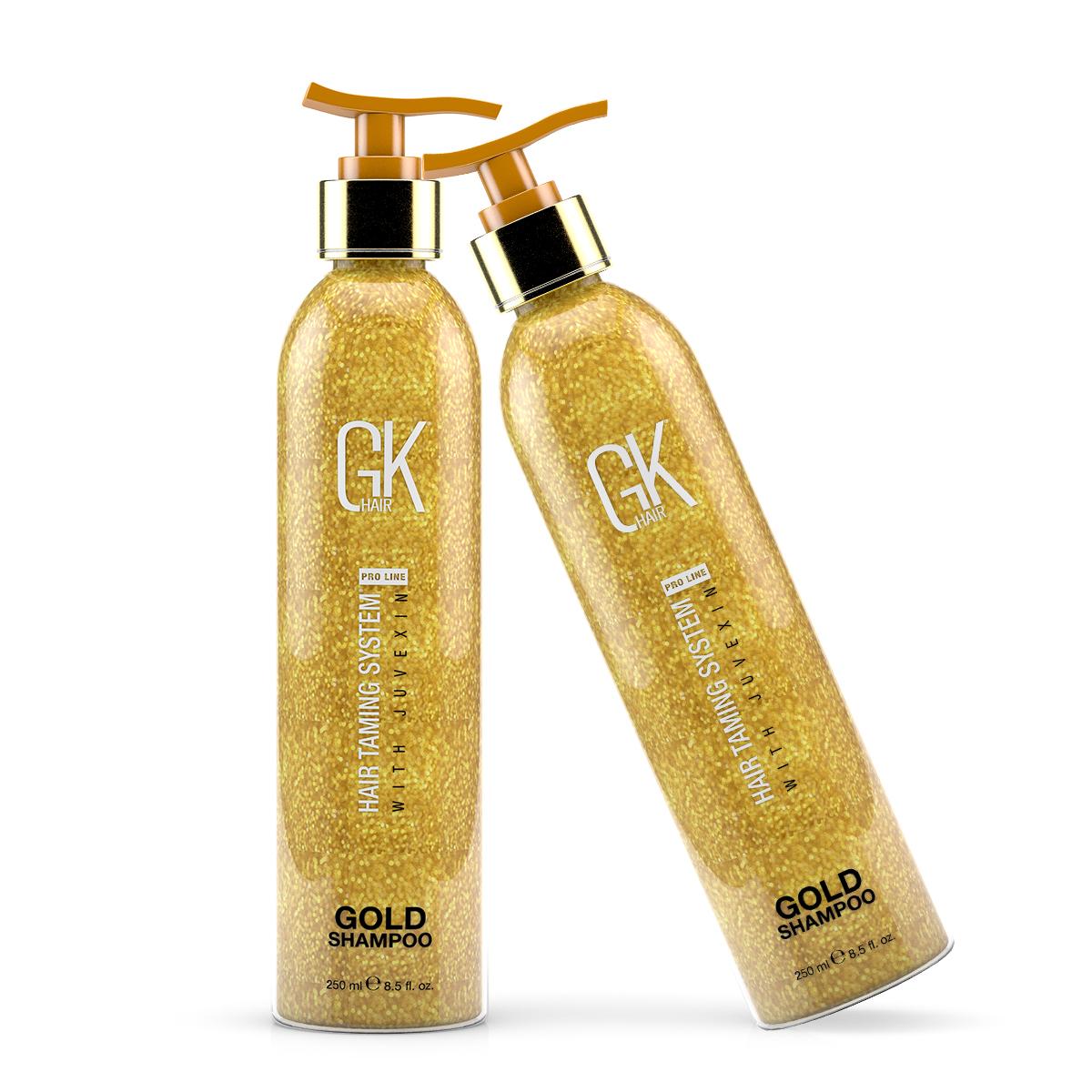 Шампунь золотой Global Keratin Gold Shampoo 250 мл.
