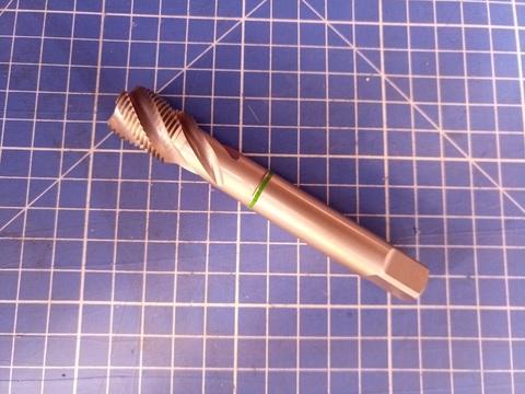 Метчик М18х1,5 (Машинный, спиральный) DIN374 ISO2(6h) C/2,5P HSSE L110мм Ruko 261180E