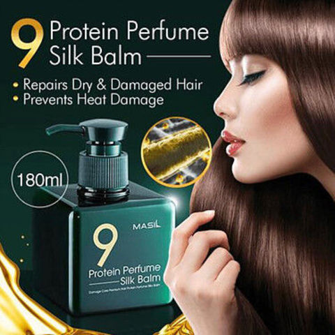 Протеиновый несмываемый бальзам  Masil 9 Protein Perfume Silk Balm