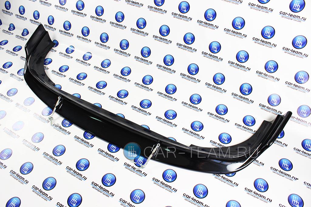 Губа (юбка) с тягами на передний бампер на ВАЗ 2110-12 окрашенная