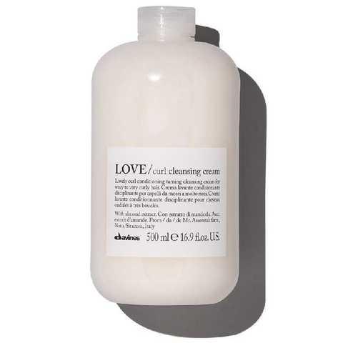 LOVE CURL cleansing cream - очищающая пенка для усиления завитка