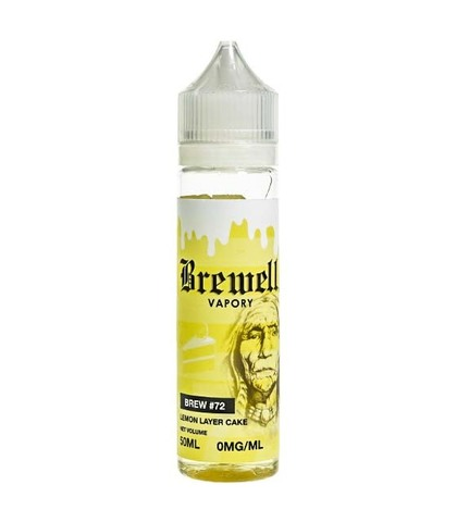 Brewell Vapory Жидкость BREW #72 Lemon Layer Cake