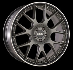 Диск колесный BBS CH-R II 11.5x22 5x130 ET50 CB71.6 satin platinum