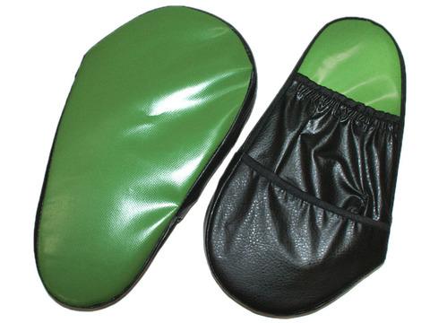 Лапа боксёрская большая (пара) из искусственной кожи :7026