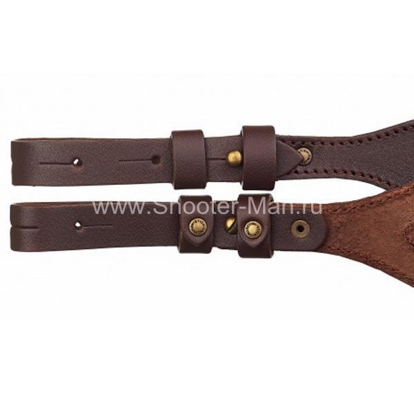 ремень оружейный кожаный Стич Профи артикул 3106 фото