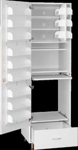 Шкаф медицинский для фармпрепаратов ШМФ-01  (мод.8) - фото