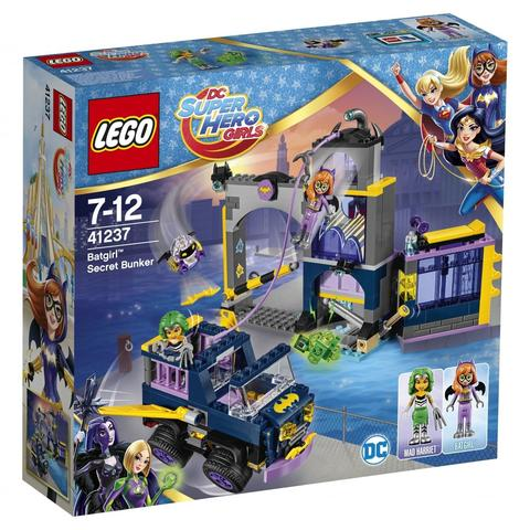 LEGO DC Super Hero Girls: Секретный бункер Бэтгёрл 41237 — Batgirl Secret Bunker — Лего Супергёрлз