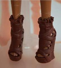 Обувь для Монстр Хай (коричневые полусапожки)