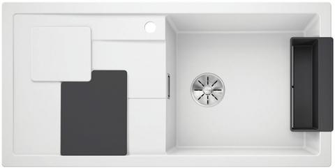 Кухонная мойка Blanco SITY XL 6 S, белый/лава