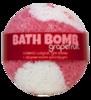 Шарик для ванн соляной Grapefruit (с эфирным маслом грейпфрута), 160g ТМ Savonry