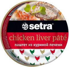 """Паштет """"Setra"""" из куриной печени 100г"""
