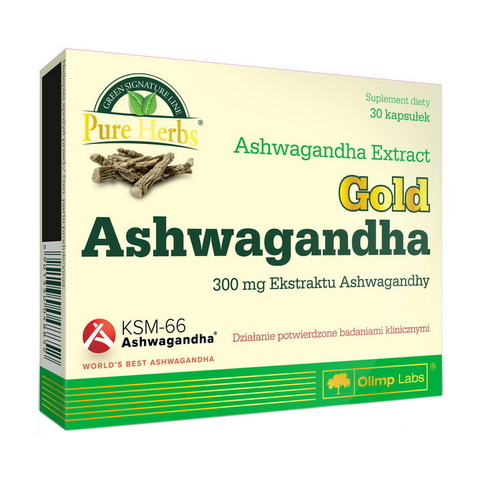 Gold Ashwagandgha 300 mg