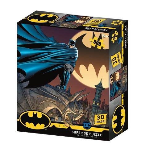 Пазл Super 3D «Знак Бэтмена», 500 деталей