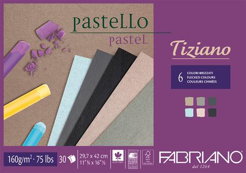 Скетчбук-cклейка для пастели Fabriano