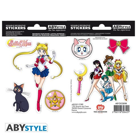 Наклейки ABYstyle: SAILOR MOON: Sailor Moon ABYDCO416