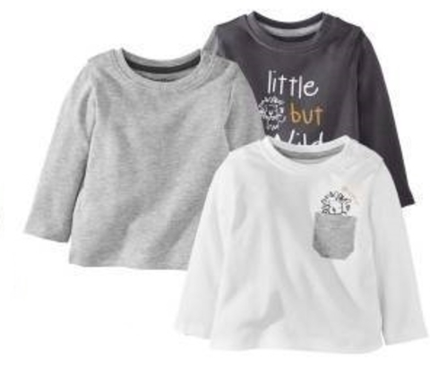 Джемпер для мальчика тёмно-серый + серый + белый 3 шт. Lupilu