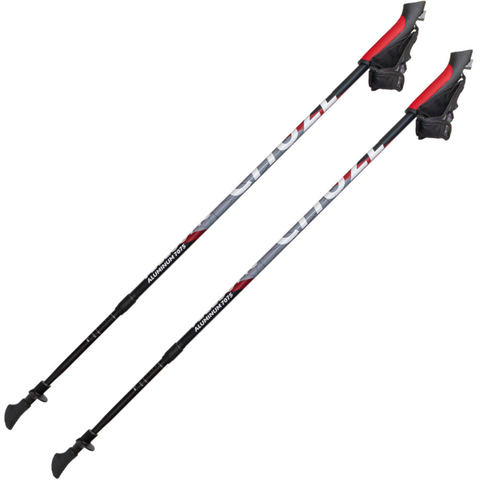 Скандинавские палки Chuze Telescopic Alu 7075 Red Чехия